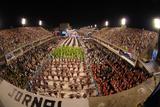 Sambadrome During the Carnival, Rio de Janeiro, Brazil, South America Photographic Print by Bhaskar Krishnamurthy
