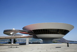 Museu do Arte Contemporanea (Museum of Contemporary Art), Niteroi, Rio de Janeiro, Brazil Photographic Print by Yadid Levy