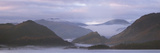 Misty Morning over Derwentwater, Borrowdale Valley, Lake District Nat&#39;l Pk, Cumbria, England, UK Photographic Print by Ian Egner
