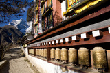 Namche Gompa (Monastery), Namche Bazaar, Solu Khumbu Region, Nepal, Himalayas, Asia Photographic Print by Ben Pipe