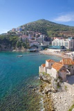 Walls of the Old Town, Budva, Montenegro, Europe Photographic Print by Frank Fell