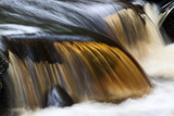 Waterfall in Whitfield Gill Near Askrigg, Wensleydale, North Yorkshire, Yorkshire, England, UK Photographic Print by Mark Sunderland