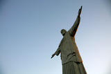 The Statue of Christ the Redeemer on Top of the Corcovado Mountain, Rio de Janeiro, Brazil Photographic Print by Yadid Levy