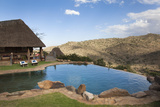Infinity Pool and View from Borana Luxury Safari Lodge, Laikipia, Kenya, East Africa, Africa Photographic Print by Ann & Steve Toon