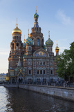 The Church on Spilled Blood, UNESCO Site, on the Kanal Griboedova, St. Petersburg, Russia Photographic Print by Martin Child