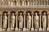 Kings' Gallery, Western Facade, Notre Dame Cathedral, Paris, France, Europe Photographic Print by  Godong