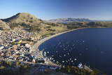 View of Copacabana, Lake Titicaca, Bolivia, South America Photographic Print by Ian Trower