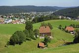 View of Furtwangen, Black Forest, Baden-Wurttemberg, Germany, Europe Photographic Print by Jochen Schlenker