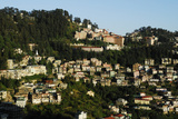 View of Shimla Houses, Shimla, Himachal Pradesh, India, Asia Photographic Print by Bhaskar Krishnamurthy