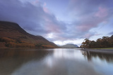 Buttermere at Dusk, Lake District National Park, Cumbria, England, United Kingdom, Europe Photographic Print by Ian Egner