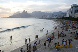 Ipanema Beach, Rio de Janeiro, Brazil, South America Photographic Print by Yadid Levy