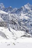 Annapurna Base Camp, Annapurna Himal, Nepal, Himalayas, Asia Fotografisk tryk af Ben Pipe