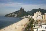 Ipanema Beach, Rio de Janeiro, Brazil, South America Photographic Print by Yadid Levy