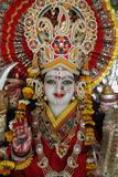 Statue of the Hindu Goddess Durga, Goverdan, Uttar Pradesh, India, Asia Photographic Print by  Godong