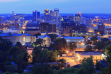Birmingham Skyline at Twilight, Birmingham, Alabama, United States of America, North America Photographic Print by Richard Cummins