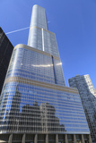 Trump Tower, Chicago's Second Tallest Building, Chicago, Illinois, United States of America Photographic Print by Amanda Hall