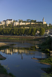 Chateau and River Vienne, Chinon, Indre-Et-Loire, Touraine, France, Europe Photographic Print by Rob Cousins