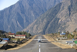 Lukla Airport and Runway, Solu Khumbu Region, Nepal, Himalayas, Asia Photographic Print by Ben Pipe