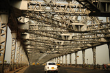 Howrah Bridge, Kolkata, West Bengal, India, Asia Photographic Print by Bhaskar Krishnamurthy