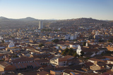 View of Sucre, UNESCO World Heritage Site, Bolivia, South America Photographic Print by Ian Trower