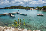 Bay of Kleine St. Michel in Curacao, ABC Islands, Netherlands Antilles, Caribbean, Central America Photographic Print by Michael Runkel