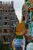 Temple at Manargudi, Tamil Nadu, India, Asia Photographic Print by Bhaskar Krishnamurthy