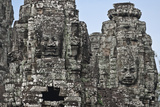 The Bayon, Angkor Thom, Angkor, UNESCO World Heritage Site, Siem Reap, Cambodia, Indochina Photographic Print by Andrew Stewart