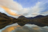 Fleetwith Pike and Hills Reflected in Buttermere, Lake District Nat'l Pk, Cumbria, England, UK Photographic Print by Ian Egner