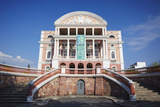 Teatro Amazonas (Opera House), Manaus, Amazonas, Brazil, South America Photographic Print by Ian Trower