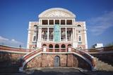 Teatro Amazonas (Opera House), Manaus, Amazonas, Brazil, South America Photographic Print by Ian Trower