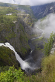 Voringfoss Waterfall, Near Eidfjord, Hordaland, Norway, Scandinavia, Europe Photographic Print by Gary Cook