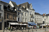 Place Michel Debre, Amboise, UNESCO World Heritage Site, Indre-Et-Loire, Centre, France, Europe Photographic Print by Peter Richardson