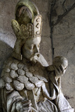 Tomb of Charles IV of Bohemia and Moravia, Palais Des Papes, UNESCO Site, Rhone Valley, France Photographic Print by David Lomax