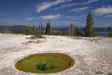 Ephedra Spring, West Thumb Geyser Basin, Yellowstone Nat'l Park, UNESCO Site, Wyoming, USA Photographic Print by Peter Barritt