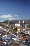 View of Ouro Preto, UNESCO World Heritage Site, Minas Gerais, Brazil, South America Photographic Print by Ian Trower