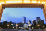 Civic Center Park and Skyline, Denver, Colorado, United States of America, North America Photographic Print by Richard Cummins
