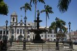 Terreiro de Jesus Square and Igreja Sao Domingos, Salvador (Salvador de Bahia), Bahia, Brazil Photographic Print by Yadid Levy