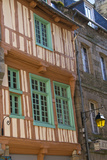 Medieval House, Old Town, Dinan, Brittany, France, Europe Photographic Print by Guy Thouvenin