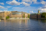 Swedish Parliament, Gamla Stan, Stockholm, Sweden, Scandinavia, Europe Photographic Print by Frank Fell