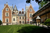 Leonardo da Vinci's House and Museum, Clos Luce, Amboise, Indre-Et-Loire, Loire Valley, France Photographic Print by Peter Richardson