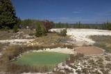 Thumb Paint Pots, West Thumb Geyser Basin, Yellowstone Nat'l Park, UNESCO Site, Wyoming, USA Photographic Print by Peter Barritt