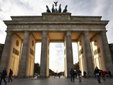 Brandenburg Gate, Berlin, Germany, Europe Photographic Print by Matthew Frost