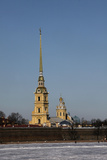 St. Peter and St. Paul Cathedral, St. Petersburg, Russia, Europe Photographic Print by  Godong