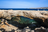 Natural Bridge, Aruba, ABC Islands, Netherland Antilles, Caribbean, Central America Photographic Print by Michael Runkel