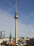 TV Tower, Berlin, Germany, Europe Photographic Print by Matthew Frost