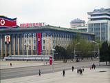 Kim Il Sung Square, Pyongyang, Democratic People's Republic of Korea (DPRK), North Korea, Asia Photographic Print by Gavin Hellier