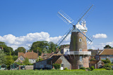 Restored 18th Century Cley Windmill, Cley Next the Sea, Norfolk, East Anglia, England, UK Photographic Print by Neale Clark
