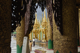 The Shwedagon Pagoda, Yangon (Rangoon), Yangon Region, Republic of the Union of Myanmar (Burma) Photographic Print by J P De Manne