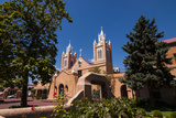 Adobe Church in Albuquerque, New Mexico, United States of America, North America Photographic Print by Michael Runkel