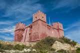 St. Agatha Tower (Red Keep) (Red Tower), Malta, Europe Photographic Print by Michael Runkel